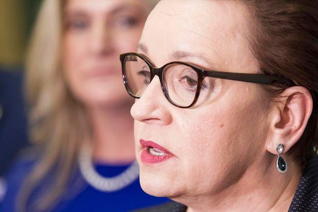 Strajk nauczycieli 2019. PO złożyła wniosek o wotum nieufności wobec minister Anny Zalewskiej