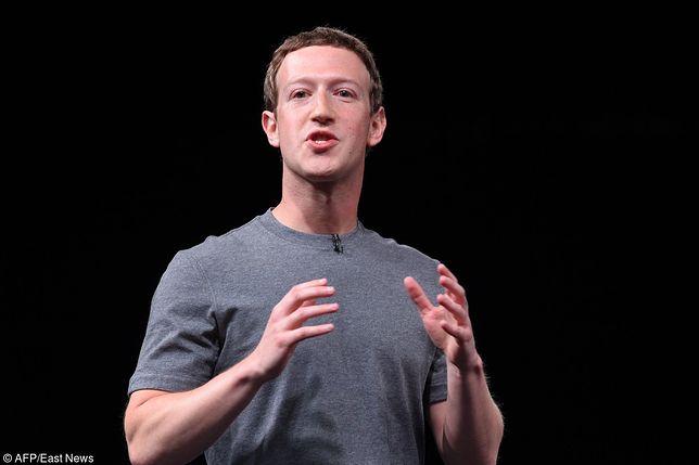"""Mark Zuckerberg: """"Głęboko martwię się erozją prawdy"""""""