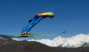 Skoczek narciarski tani jak barszcz