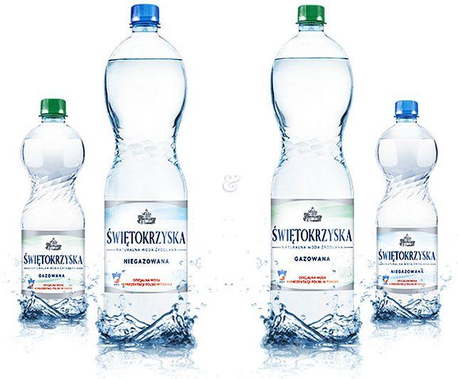 Ostrzeżenie dotyczące wody źródlanej - nie należy jej spożywać.