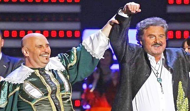 Wieloletni przyjaciele Marian Lichtman i Krzysztof Krawczyk.