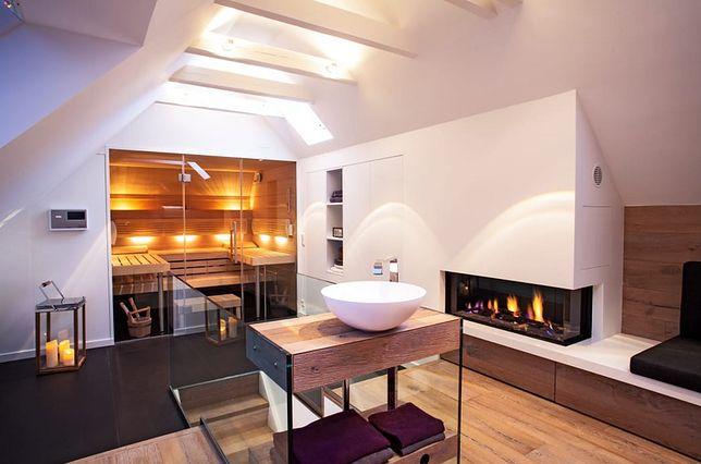 Metamorfoza strychu w salon kąpielowy