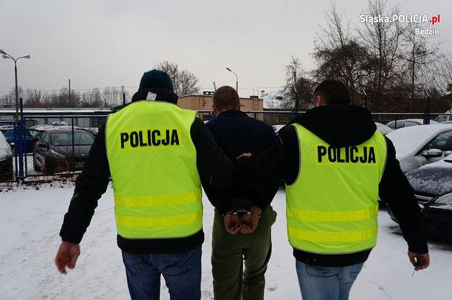 Kryminalni z Będzina musieli jechać aż do Krakowa, by złapać złodzieja części samochodowych.