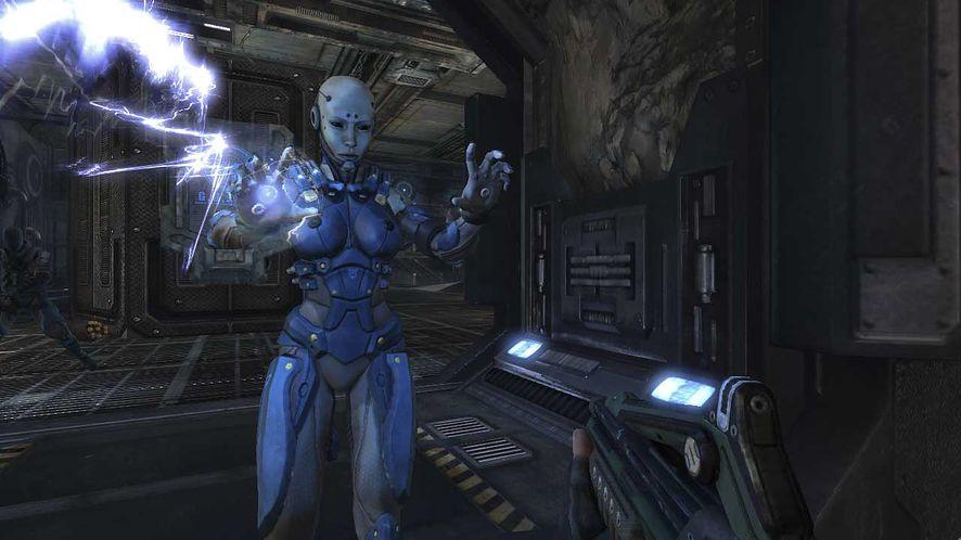 Rozgrywka: CellFactor: Psychokinetic Wars