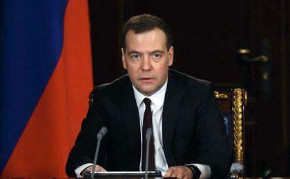 Miedwiediew: Rosja zniosła zerowe cło na gaz dla Ukrainy