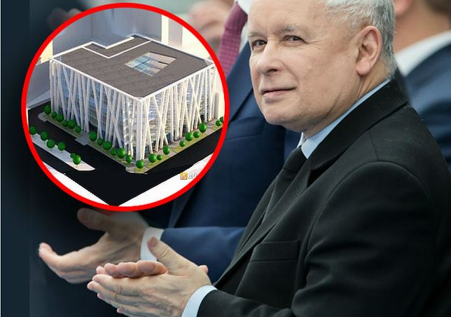 Tak miała wyglądać nowa siedziba PiS na Nowogrodzkiej w Warszawie.