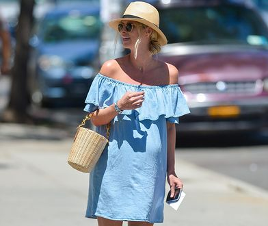 LOOK OF THE DAY: Nicky Hilton w sukience z Zary