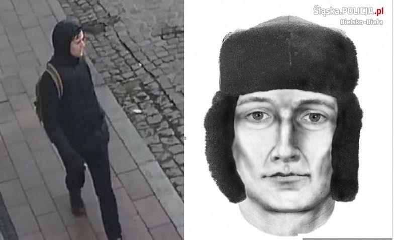 Bielsko-Biała. Policja nie ustaliła tożsamości zboczeńca