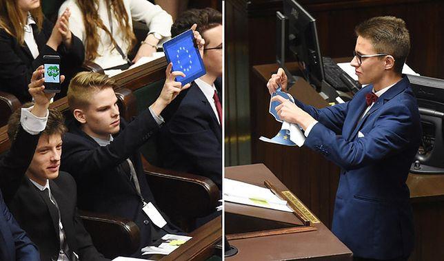 """Politycy zniesmaczeni Sejmem Dzieci i Młodzieży. Bo """"czerpią wzorce"""""""