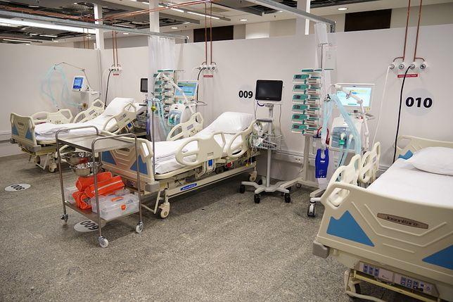 Koronawirus w Polsce. Ponad milion złotych miesięcznie kosztuje sprzątanie w Szpitalu Narodowym