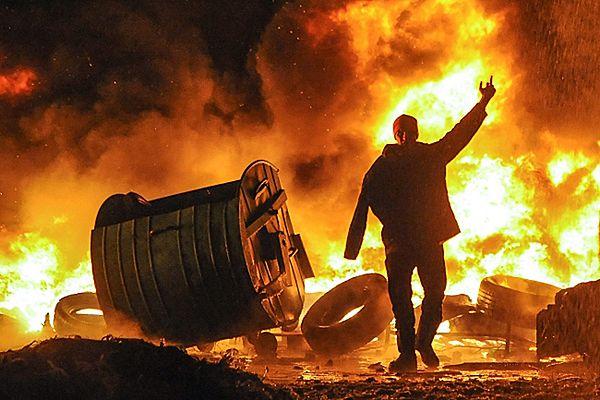 Nie ustają zamieszki na Ukrainie