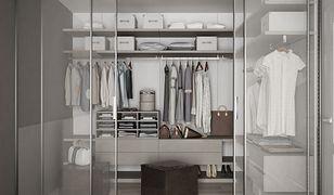 Garderobę można zorganizować w przedpokoju, gdzie świetnie sprawdza się szafa wnękowa
