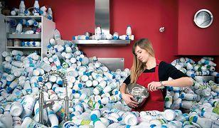 Odpady do recyklingu w słynnej sesji zdjęciowej