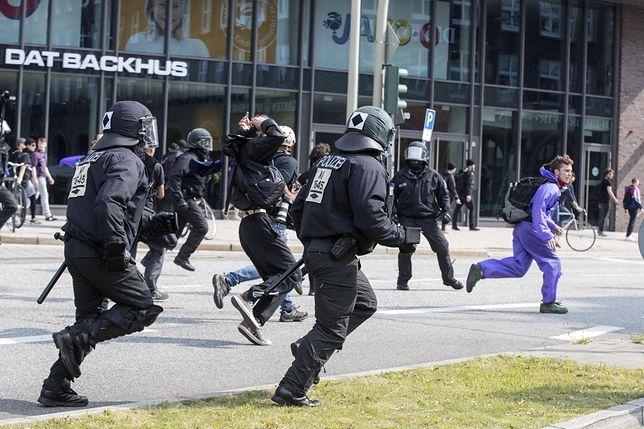 Starcia w Hamburgu. Melania Trump nie może opuścić hotelu