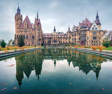 Escape room znajduje się m.in. na terenie zamku w Mosznej.