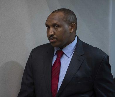 Bosco Ntaganda na sali Międzynarodowego Trybunału Karnego w Hadze