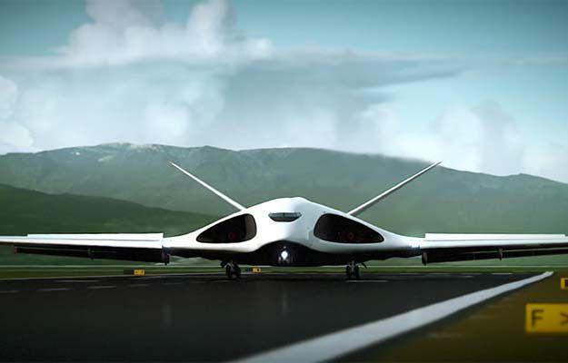 Artystyczna wizja samolotu PAK TA