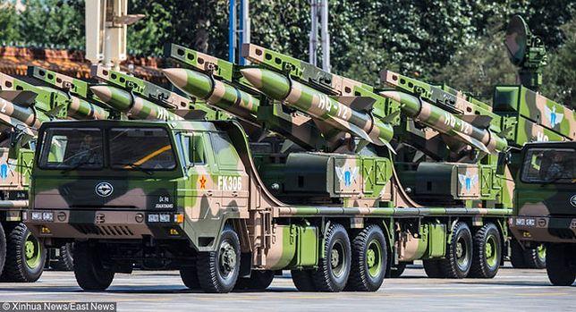 Chińskie rakiety ziemia-powietrze