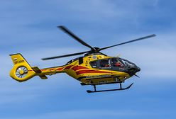 Trzy osoby ranne po wypadku awionetki na Podkarpaciu. Na miejscu lądował śmigłowiec LPR