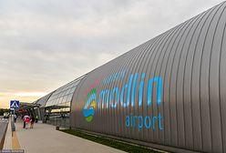 Incydent na lotnisku w Modlinie. Loty wstrzymane do odwołania