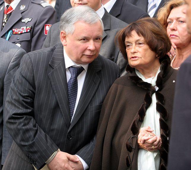 Kaczyński: by nie mówić mamie o śmierci Leszka, wymyśliłem, że wyjechali do Ameryki