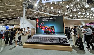 Na targach Computex 2019 na Tajwanie Asus zaprezentował ZenBook Duo Pro z dwoma ekranami