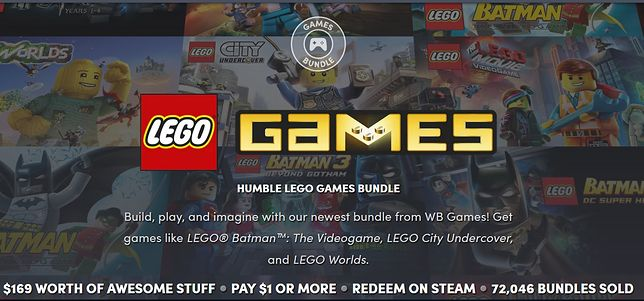 Gry LEGO na PC w Humble Bundle