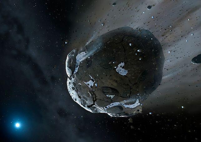 Aż 5 asteroid będzie niebezpiecznie blisko Ziemi w ten weekend