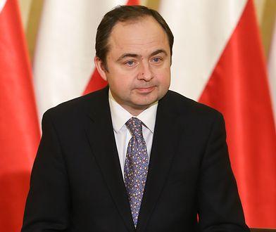 Szymański zapowiada, że Polska nie przyjmie uchodźców