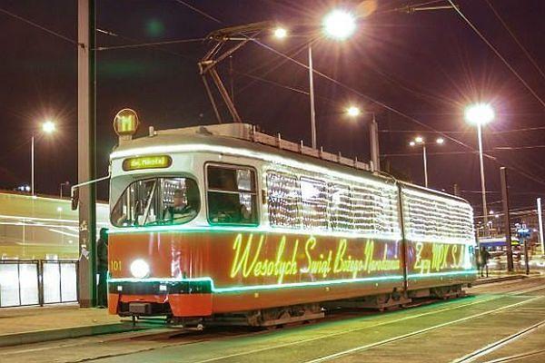 Mikołajowy tramwaj wyjedzie 6 grudnia w podróż po Krakowie