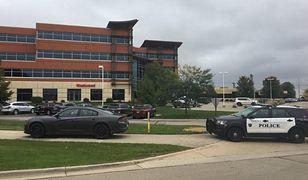 Biurowiec w stanie Wisconsin (USA), w którym doszło do strzelaniny.