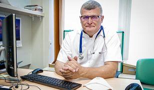 Dr Grzesiowski: w 2021 trzecia fala koronawirusa