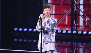 Marcin Maciejczak na finale The Voice Kids 3