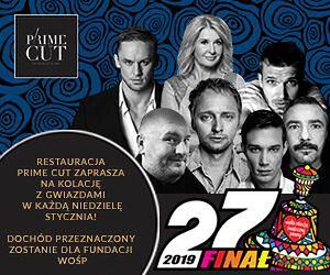 WOŚP: Majka Jeżowska i Tomasz Ciachorowski w Prime Cut