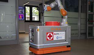 Robot zamiast pielęgniarki? Polski wynalazek może pomóc szpitalom