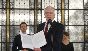Koronawirus w Polsce. Jarosław Gowin proponuje nowelizację Konstytucji