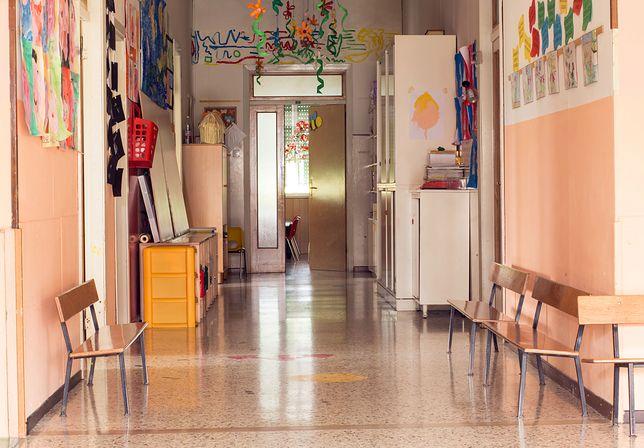 Przedszkolny korytarz