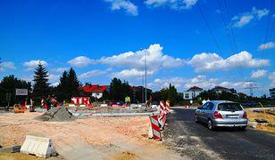 Drogowcy kończą budowę ronda w Wilanowie