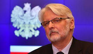 Witold Waszczykowski odrzuca krytykę opozycji