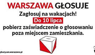 Warszawa. Zaświadczenie można pobrać do 10 lipca