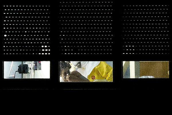 Jedno z nielicznych zdjęć Teresy Romero - po zarażeniu Ebolą