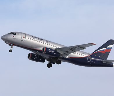 Samolot Suchoj Superjet 100 linii Aeroflot musiał zawrócić na lotnisko Szeremetiewo tuż po starcie