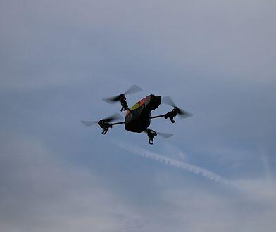 Drony monitorują mieszkańców Chin
