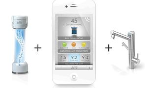 Zuvo Water Stratus - kran sterowany smartfonem