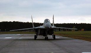 MiG-29 przekazany Polsce przez Luftwaffe