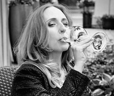 Monika Bielka Vescovi nie pije, ale degustuje, jak przystało na profesjonalistkę