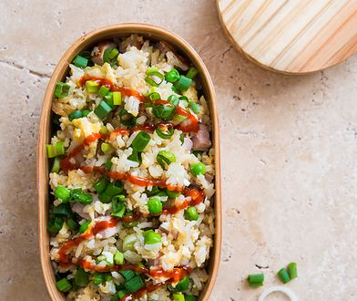 Smażony ryż z jajkiem i szynką. Szybko i smacznie