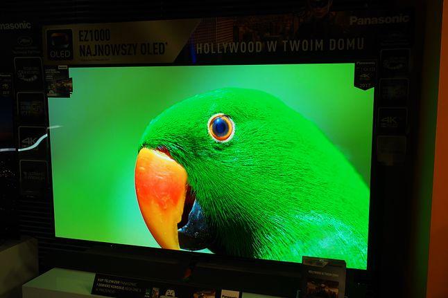 Flagowy Panasonic 65EZ1000 wykonany w oparciu o panel OLED najnowszej generacji