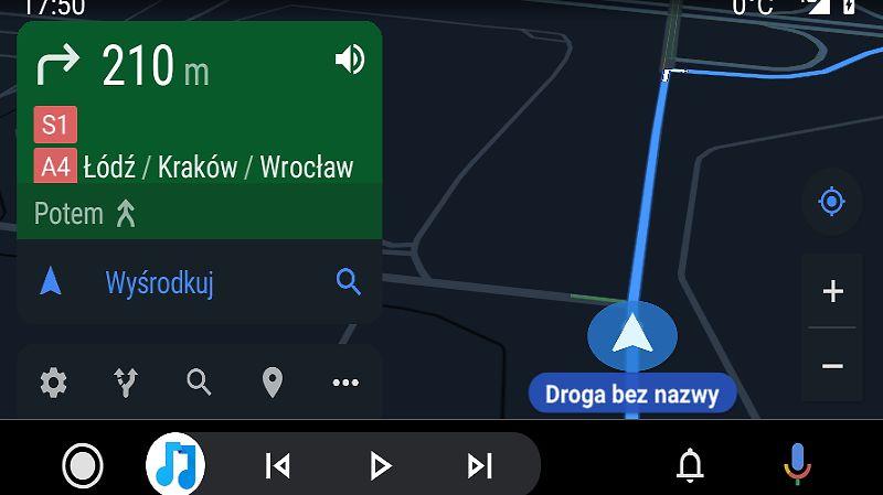Android Auto jest ciągle pełen błędów, fot. Oskar Ziomek