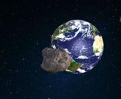 Asteroida leci w stronę Ziemi. Już wiadomo, co się stanie